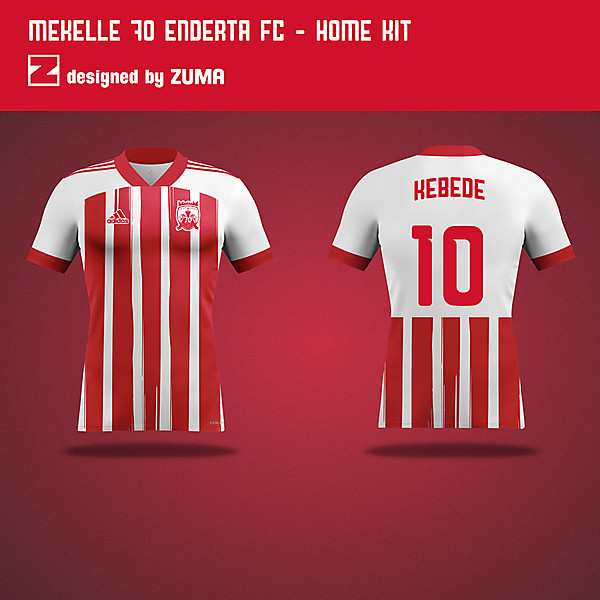 Mekelle 70 Enderta FC   Adidas   Home Kit