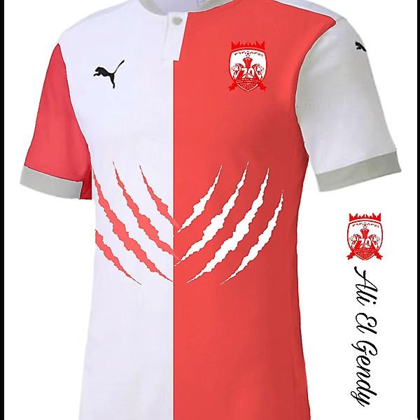 Mekelle FC home kit