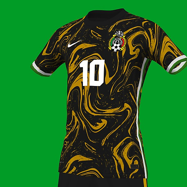 Mexico Golden year jersey