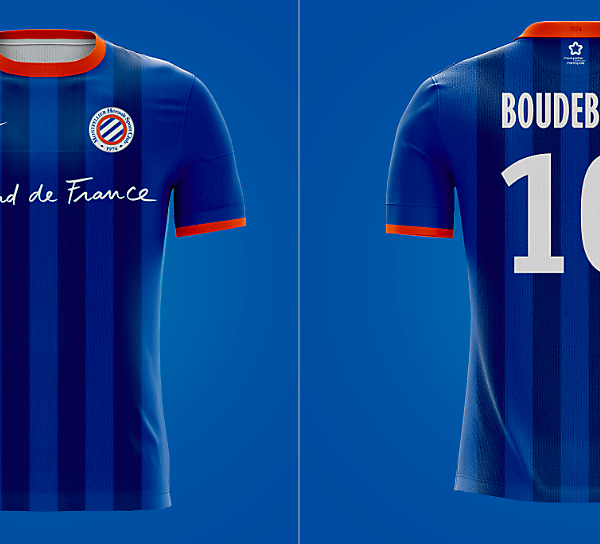 Montpellier HSC - Home Kit