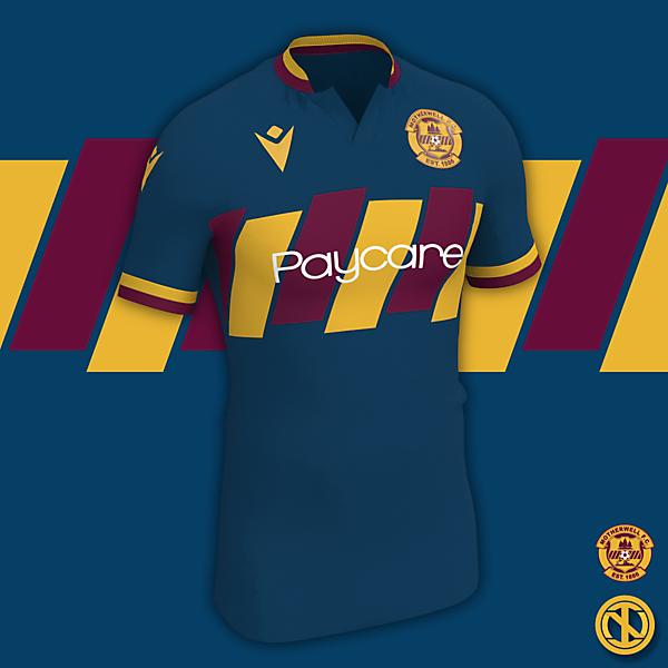 Motherwell   Away Kit Concept