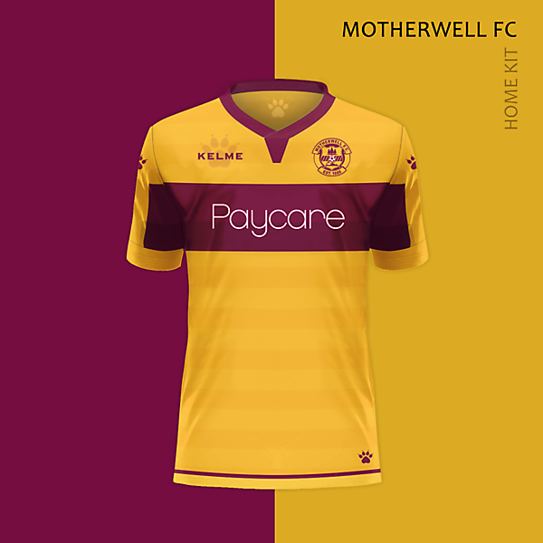 MOTHERWELL FC /  Home kit