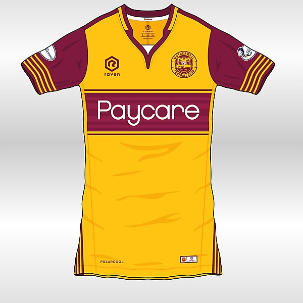 MOTHERWELL FC  Home kit