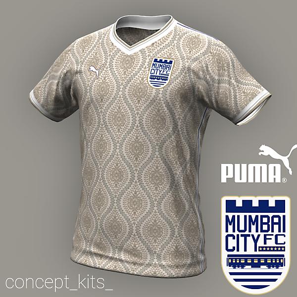 Mumbai City Away Shirt