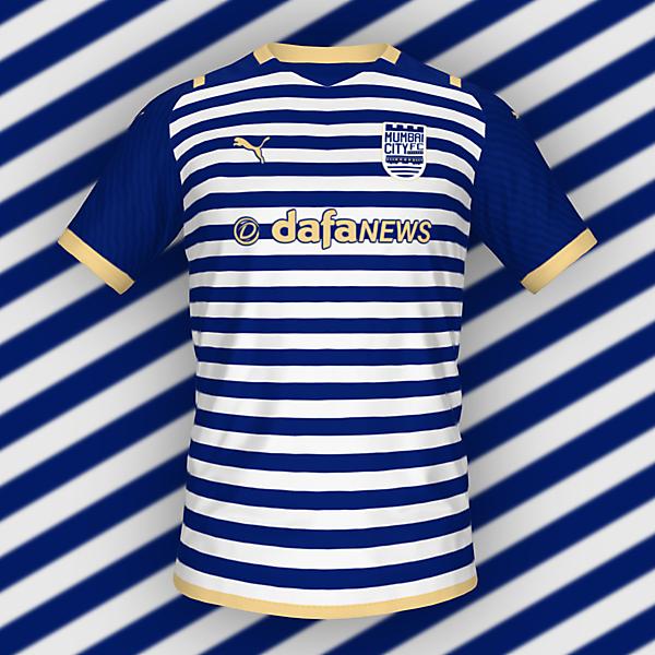 Mumbai City FC Home Shirt   KOTW 210
