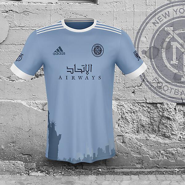 New York City FC home concept