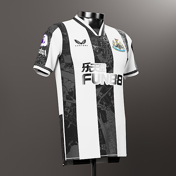Newcastle United | Home Shirt