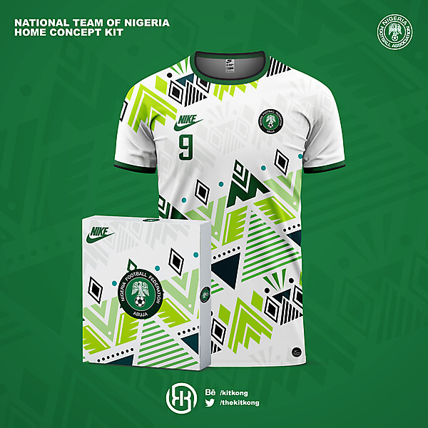 Nigeria | Home kit concept
