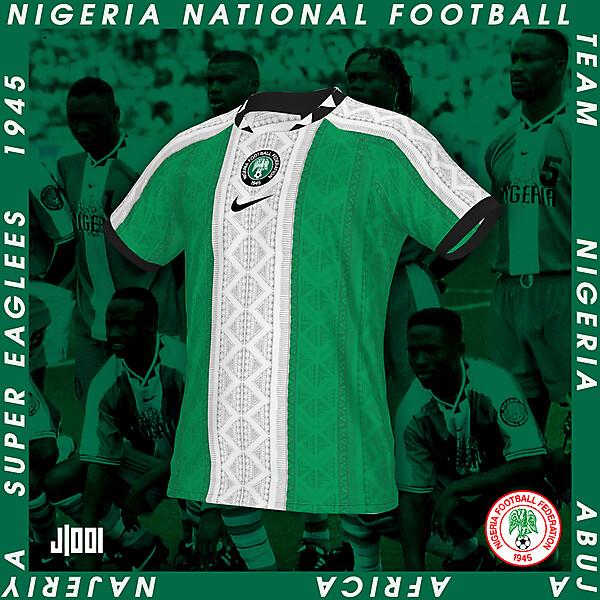 NIGERIA    NIKE HOME SHIRT CONCEPT