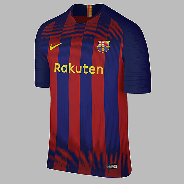 Nike Barcelona Home Jersey Concepr