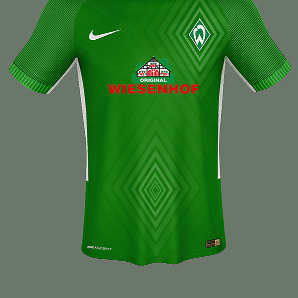 Nike Werder Bremen Home