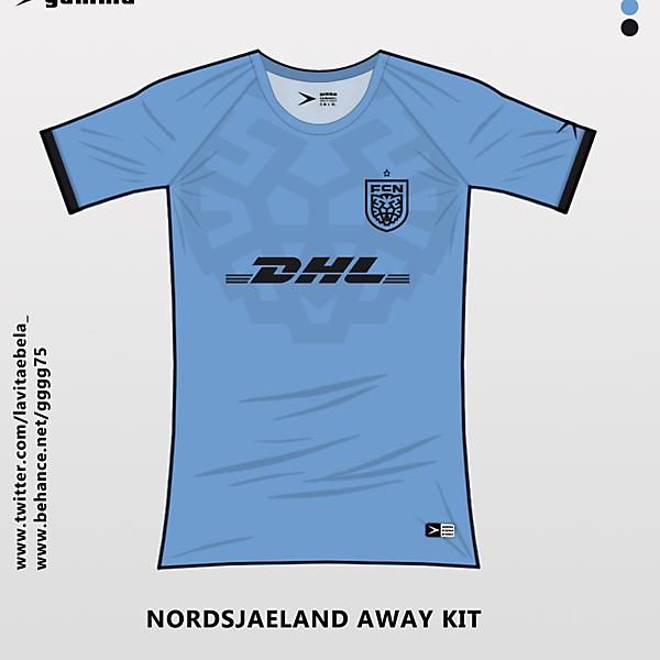 nordsjaeland away kit