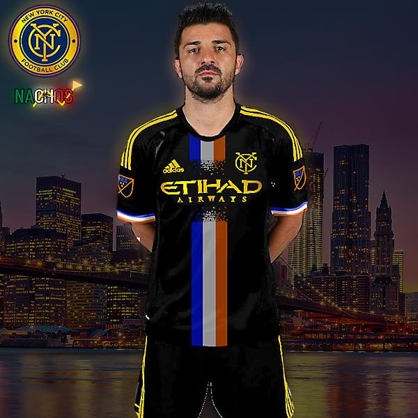 NYC FC AWAY KOTW by NACHOS