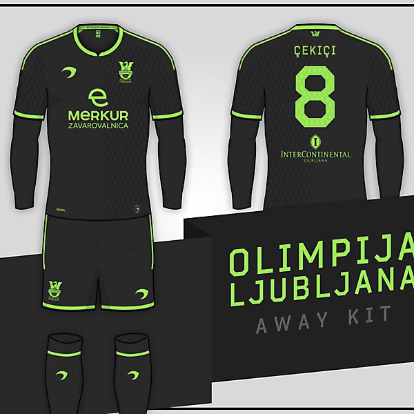 Olimpija Ljubljana | Away Kit