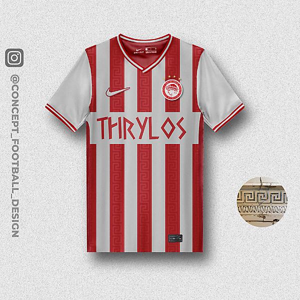 Olympiacos X Nike Home Shirt