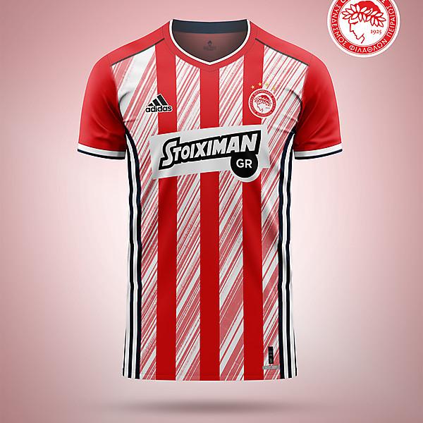 Olympiakos - home shirt concept