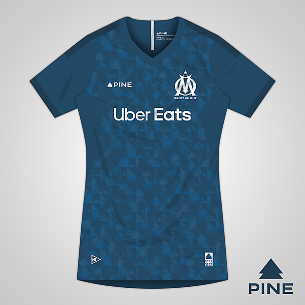 Olympique de Marseille | Away | Pine