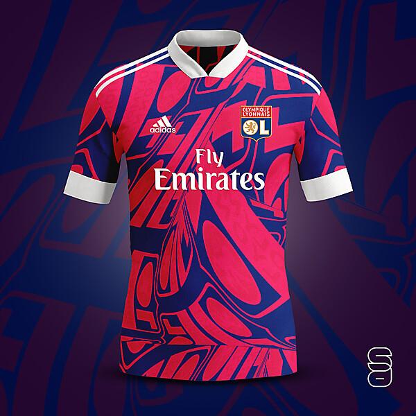 Olympique Lyon 3rd kit