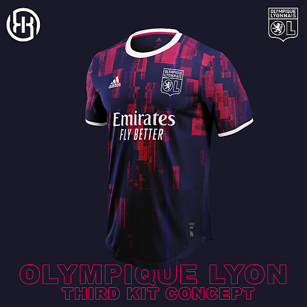 Olympique Lyon | Third kit concept