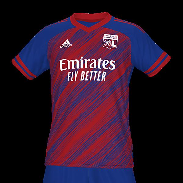 Olympique Lyon away kit by @feliplayzz