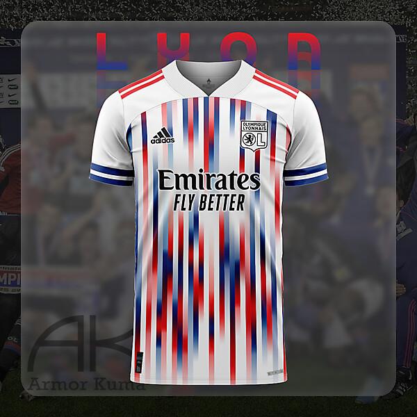 Olympique Lyonnais Adidas Home Kit
