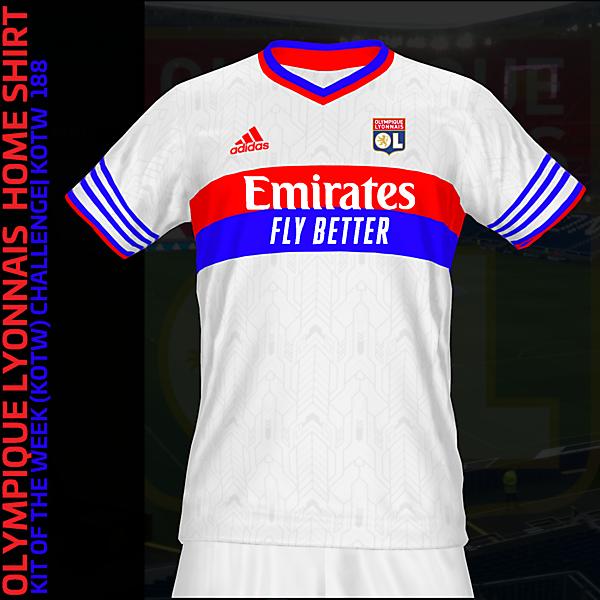 Olympique Lyonnais Home Kit| KOTW 188