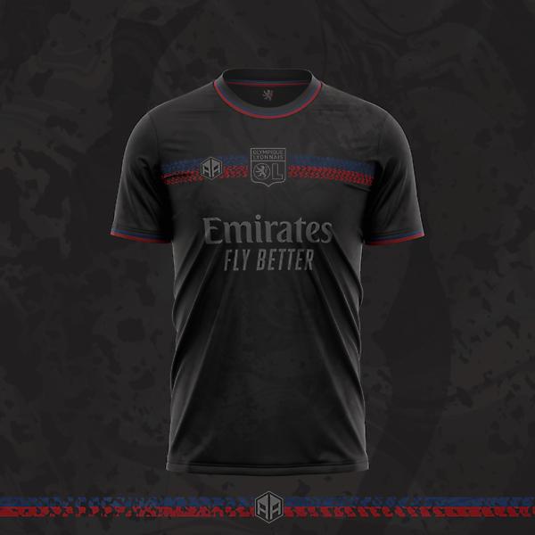 Olympique Lyonnais third kit concept