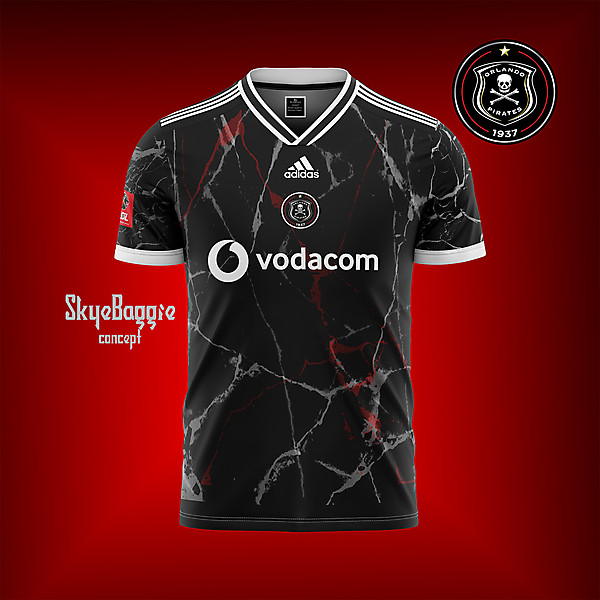 Orlando Pirates-home marbled concept