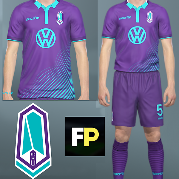 Pacific FC Home kit by @feliplayzz