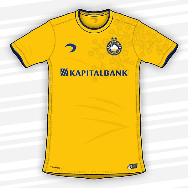 Pakhtakor Tashkent FK | Home shirt