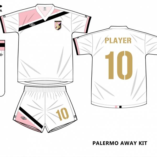 palermo away kit