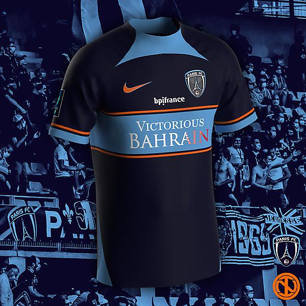 Paris FC | Home Kit Concept