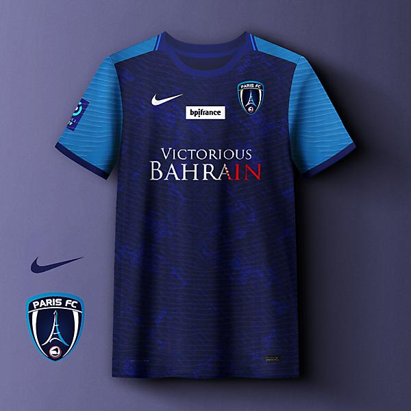 Paris FC home concept