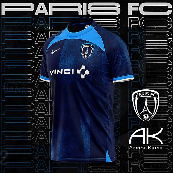 Paris FC Nike Home Kit