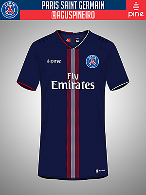 Paris Saint Germain Home Kit by Pine