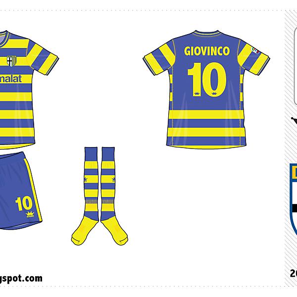 Parma away kit