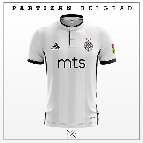 Partizan Belgrad - Weekly - Away