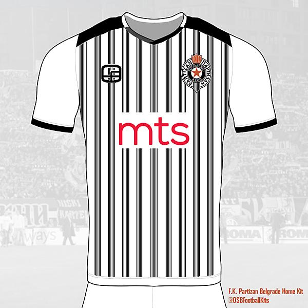 Partizan Belgrade Home Shirt