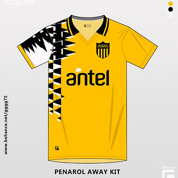 penarol away kit