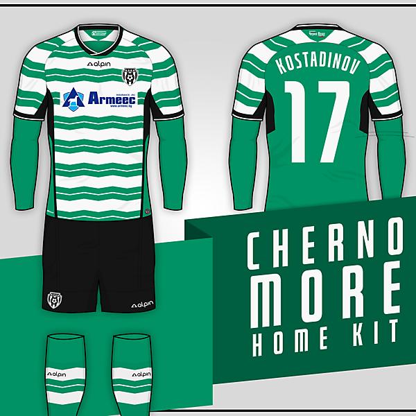 PFC Cherno More // Home kit