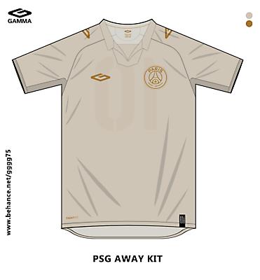 psg away kit