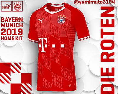 Puma Bayern Munich Home Shirt