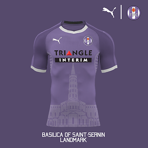 Puma Toulouse FC Home Jersey