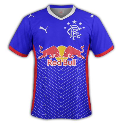 Rangers FC Home Shirt 2017/18