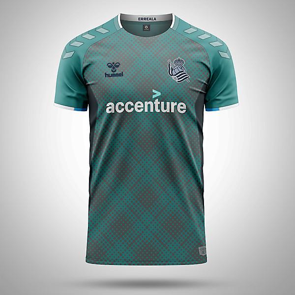 Real Sociedad 3rd Kit X Hummel