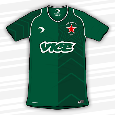 Red Star | Home Shirt