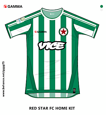 red star fc home kit