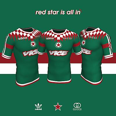 Red Star x adidas x Gucci