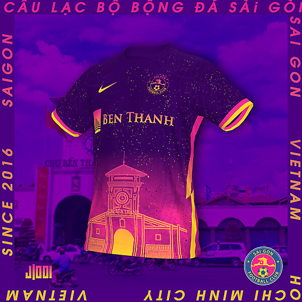 SAI GON FC  | NIKE AWAY SHIRT CONCEPT