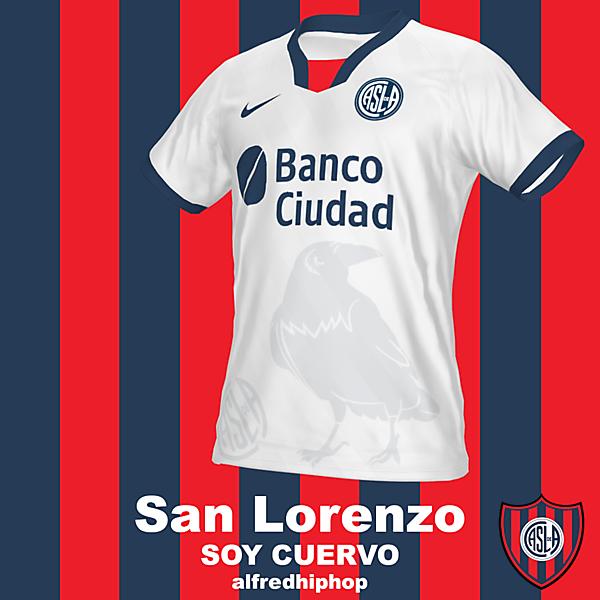 San Lorenzo Edición SOY CUERVO
